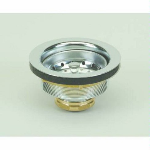 PROFLO PF250 Kitchen Sink Drain Assembly and Basket Strainer - Fits  Standard 3-1/2\