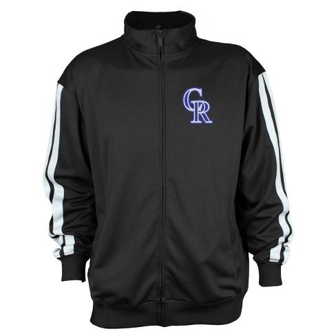 Colorado Rockies Men's Zip-Up Track Jacket - XL - image 1 of 2