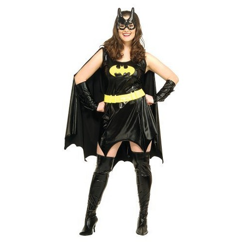 Women's Plus Size DC Comics Batgirl Costume Large Plus - image 1 of 1