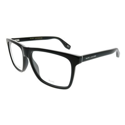 Marc Jacobs  807 Unisex Rectangle Eyeglasses Black 55mm