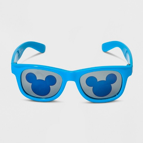 Toddler Boys' Disney Mickey Mouse & Friends Mickey Mouse Sunglasses - Blue - image 1 of 2