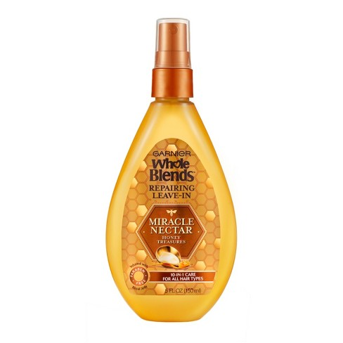Garnier Whole Blends Miracle Nectar Repairing Leave-In - 5 fl oz - image 1 of 3