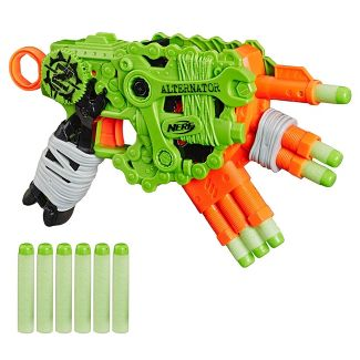 NERF Nerf Zombie Strike Alternator Blaster