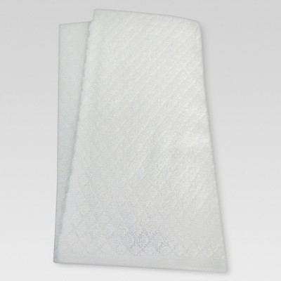 Terry Kitchen Towel 2-pack - White - Threshold™