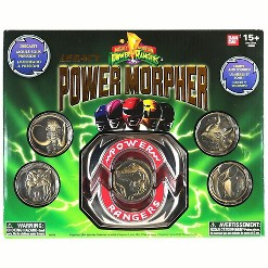 Power Rangers Mighty Morphin Legacy Power Morpher 4-Inch Roleplay Toy