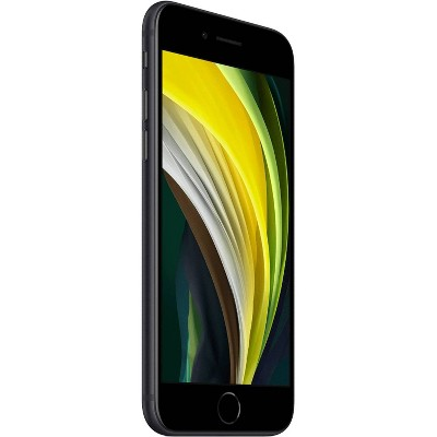 Apple iPhone SE 2nd Generation Unlocked (128GB) GSM/CDMA Phone - Black