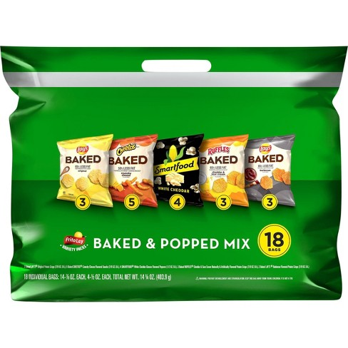 Frito-Lay Variety Pack Baked & Popped Mix- 18ct - image 1 of 4