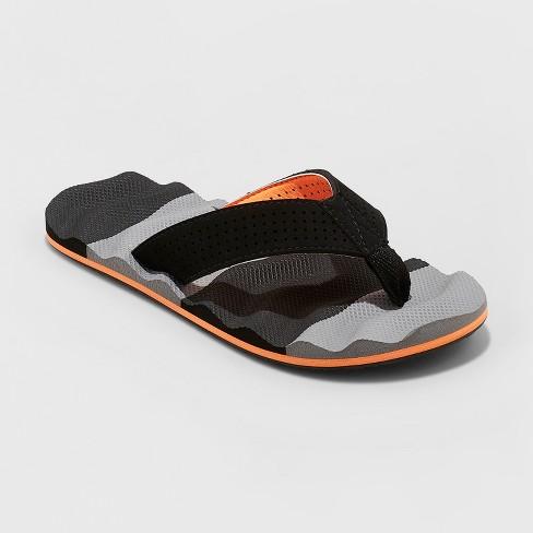 a893f79ee613 Boys  Carlo Flip Flop Sandals - Cat   Jack™ Black   Target