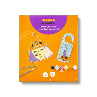 You Got Booed Witch Door Hanger with Paints - Mondo Llama™