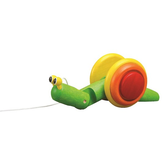 PlanToys Pull Along Snail image number null