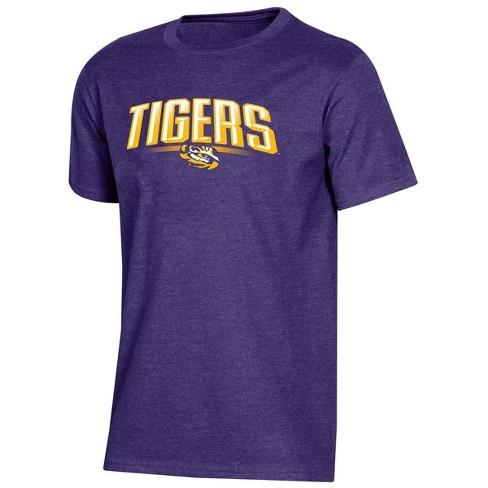 NCAA LSU Tigers Boys' Short Sleeve Crew Neck T-Shirt - image 1 of 2