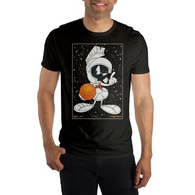 Space Jam 2: A New Legacy Marvin The Martian Black Men's Short Sleeve T-shirt