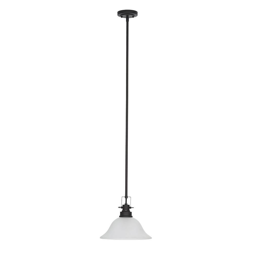 Image of One Light Pendant Bronze - Cresswell Lighting, Brown
