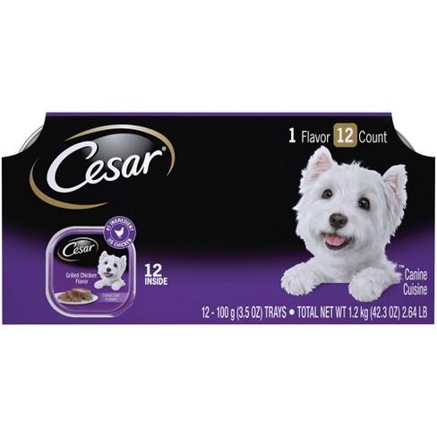 Cesar Grilled Chicken Flavor Wet Dog Food - 12ct - image 1 of 4