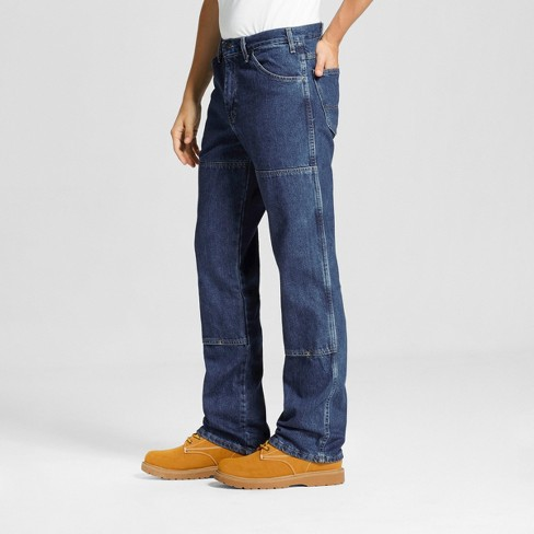 439499be4dbedc Dickies Men s Relaxed Straight Fit Double Knee Denim 6-Pocket Jeans   Target