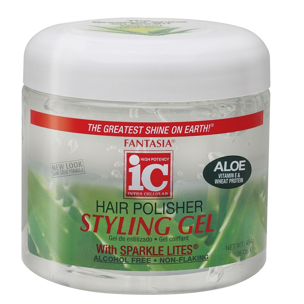 Image of Fantasia Hair Polish Styling Gel Regular - 16oz