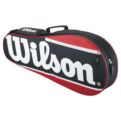 Wilson 2 Racket Tennis Bag - Red/Black