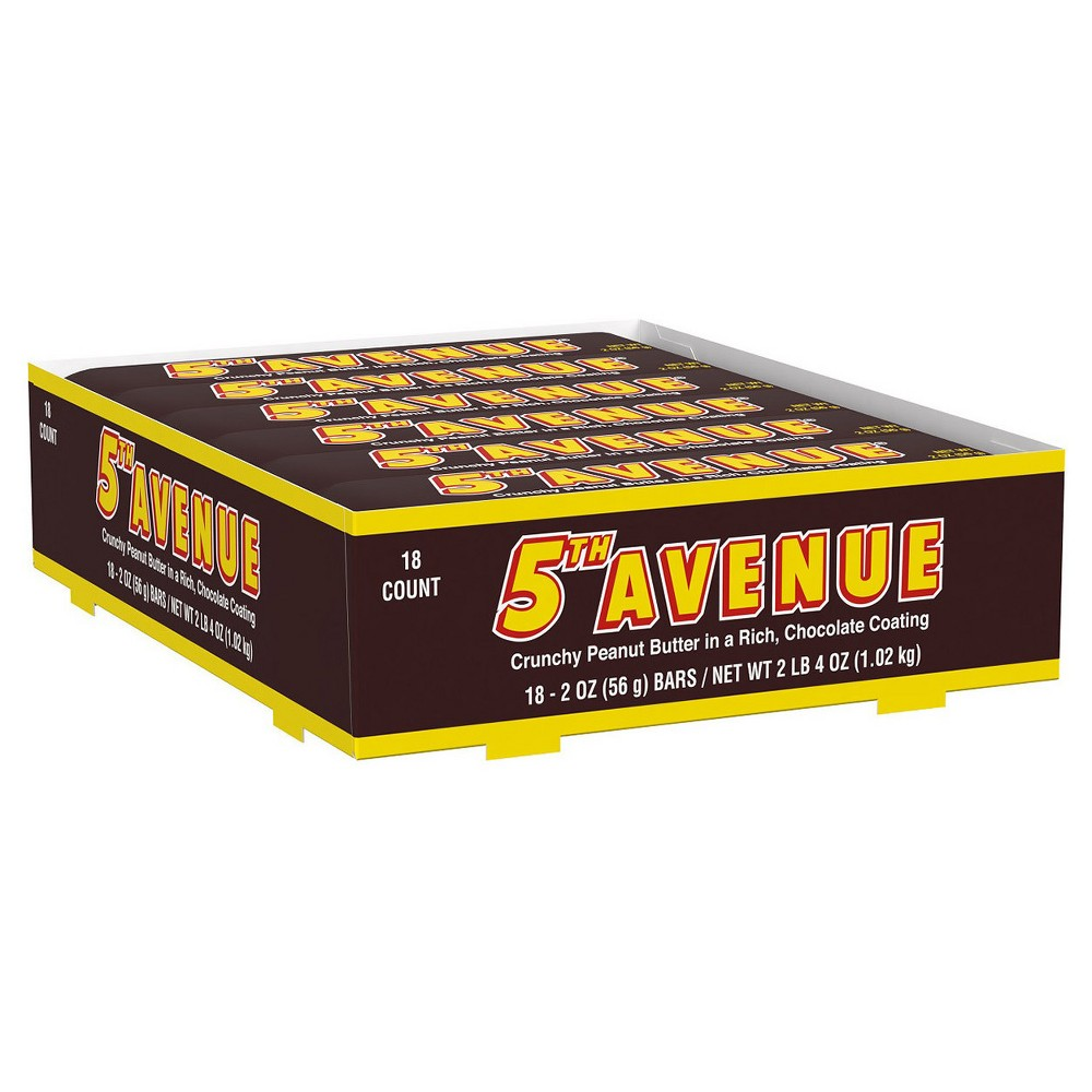 Image of 5th Avenue Candy Bars - 2oz - 18ct