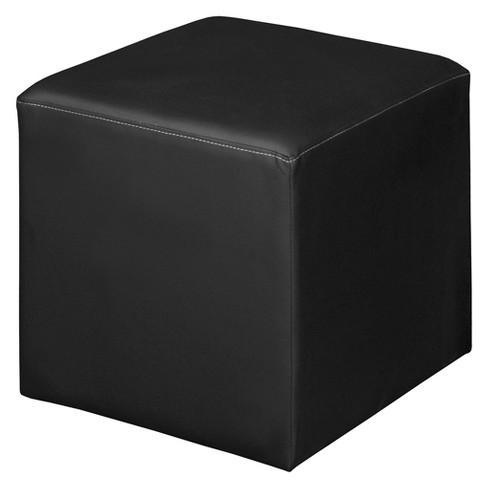 Awe Inspiring Jean Square Ottoman Black Niche Forskolin Free Trial Chair Design Images Forskolin Free Trialorg