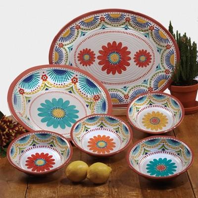 Vera Cruz Melamine Dinnerware Collection - Certified International