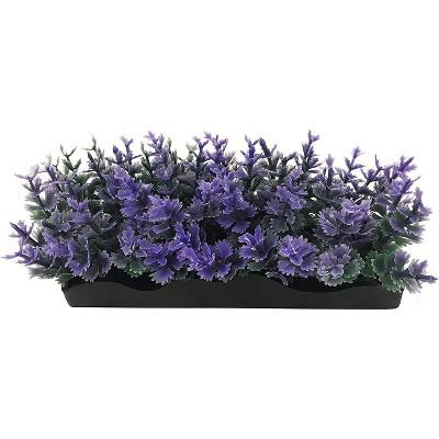 Penn-Plax Aqua-Scaping Small Purple Bunch Plant-5 Piece PDQ