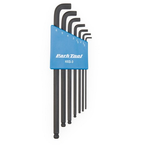 Park Tool HXS-3 Stubby Hex Wrench Set 1.5-6 mm - image 1 of 2