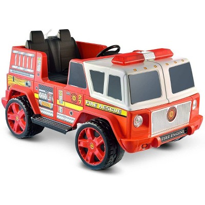 Kid Motorz 12V Fire Engine Two Seater Powered Ride-On