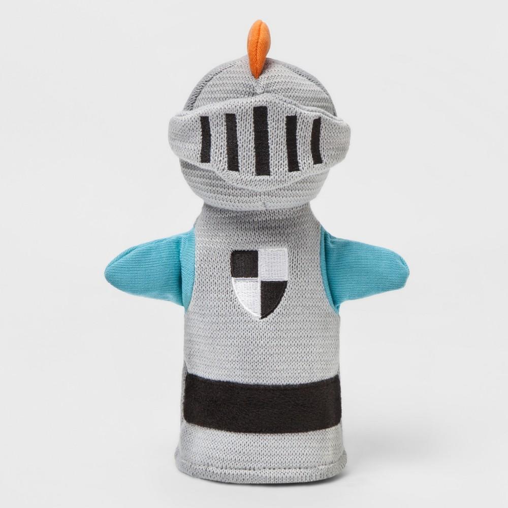 Knight Hand Puppet - Pillowfort, Gray