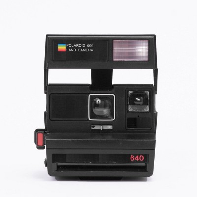 Polaroid 600 Camera - Black Flash