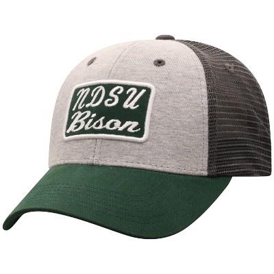 NCAA North Dakota State Bison Men's Gray Cotton with Mesh Snapback Hat