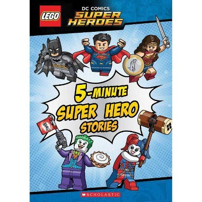 5-minute Super Hero Stories (Hardcover) - by Lego
