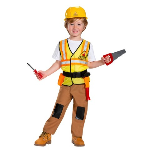 453ea5842 Toddler Construction Worker Halloween Costume - Hyde & EEK! Boutique™