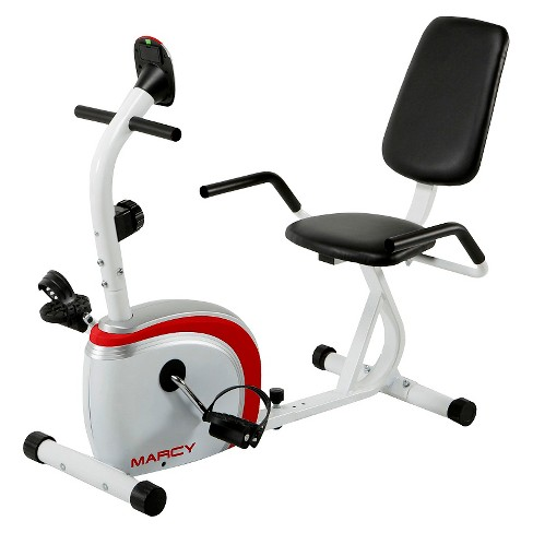 Marcy Recumbent Magnetic Exercise Bike with Pulse Monitor - image 1 of 4
