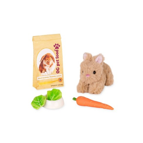 """Our Generation Mini Plush Pet Bunny Accessory Set for 18"""" Dolls - image 1 of 3"""