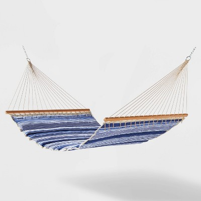 Pillow Top Outdoor Patio Hammock - Borden Stripe - Threshold™