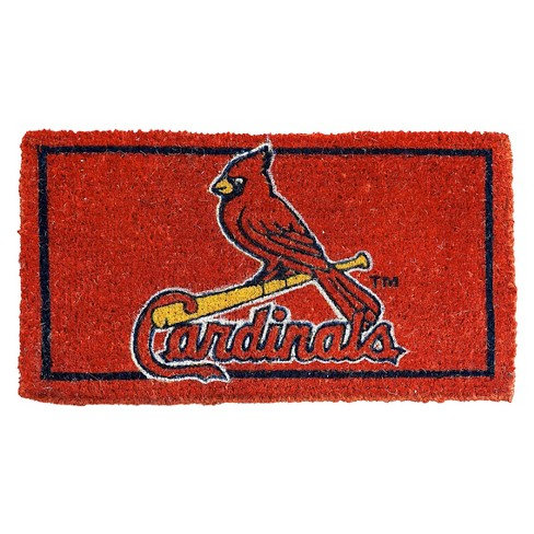"St. Louis Cardinals Evergreen Team Sports America Welcome Mat (18"" x 30"") - image 1 of 1"