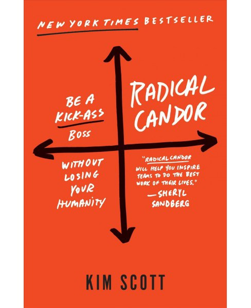 Radical Candor : Be a Kick- Boss Without Losing Your Humanity (Hardcover) (Kim Scott) - image 1 of 1