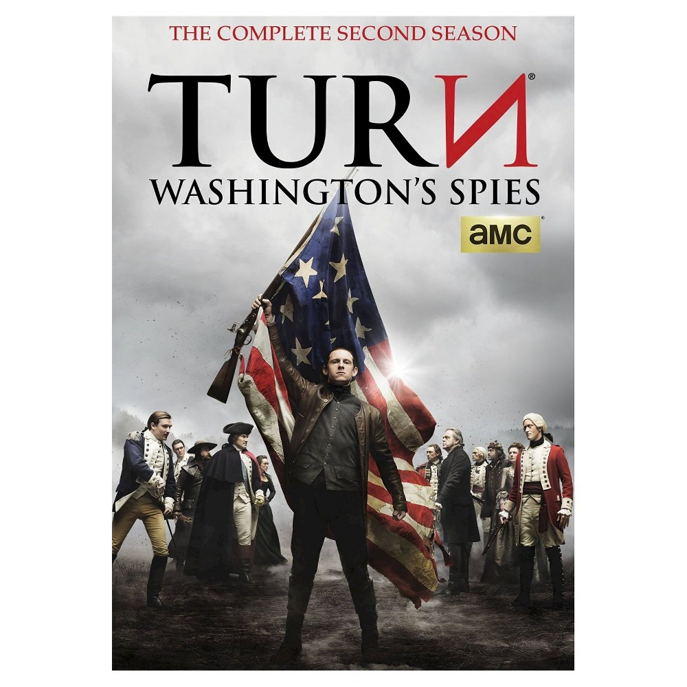 Turn: Washington's Spies - Season 2 (Dvd)