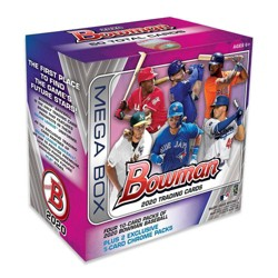 2020 Topps MLB Bowman Baseball Trading Card Mega Box