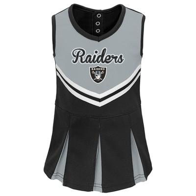 Oakland Raiders Infant-Toddler In the Spirit Cheer Set 4T