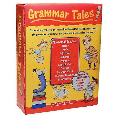 Grammar Tales Box Set - by  Scholastic Teaching Resources & Scholastic (Paperback) - image 1 of 1
