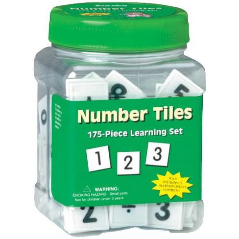 Eureka Number Tiles Learning Set, 175 pc - image 1 of 1