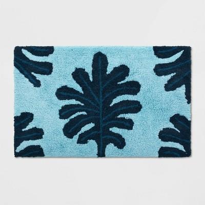Palm Bath Rug Blue - Opalhouse™