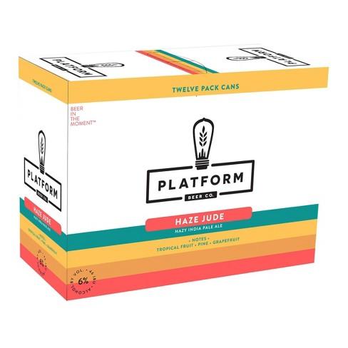 Platform Haze Jude IPA Beer - 12pk/12 fl oz Cans - image 1 of 1
