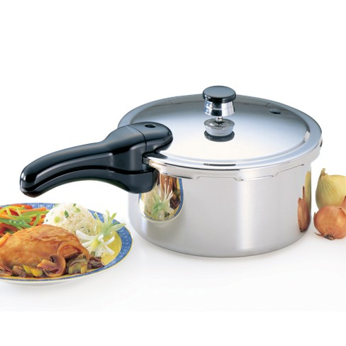 Presto 4-qt. Stainless Steel Pressure Cooker - image 1 of 4