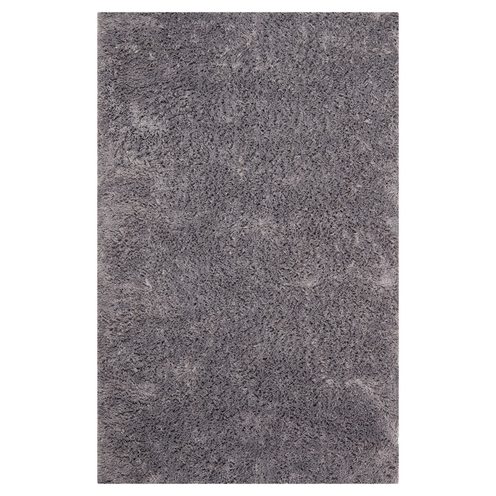 Gray Solid Tufted Area Rug - (6'x9') - Safavieh