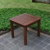 Sopra Wood Patio Side Table - Cambridge Casual - image 2 of 4