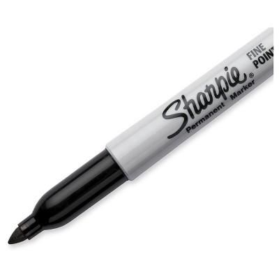 Sharpie 4pk Permanent Marker Black, Size: 4ct