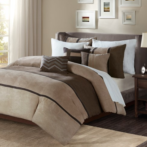 Overland Faux Suede Duvet Cover Set - image 1 of 4