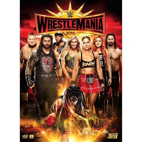 WWE: WrestleMania 35 (DVD) - image 1 of 2